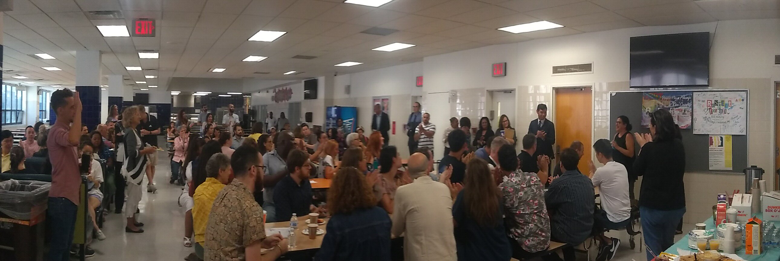 breakfast teacher pta hosted incredible staff morning going